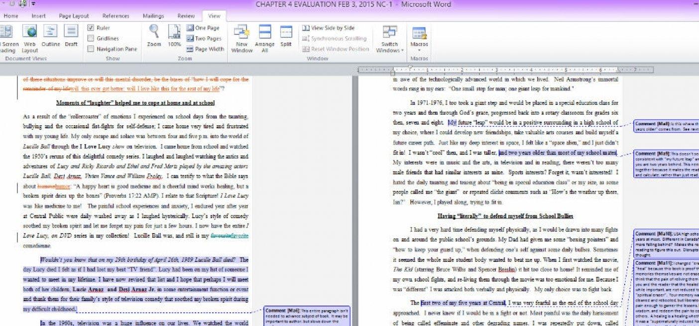 The Benefits of Manuscript Evaluation