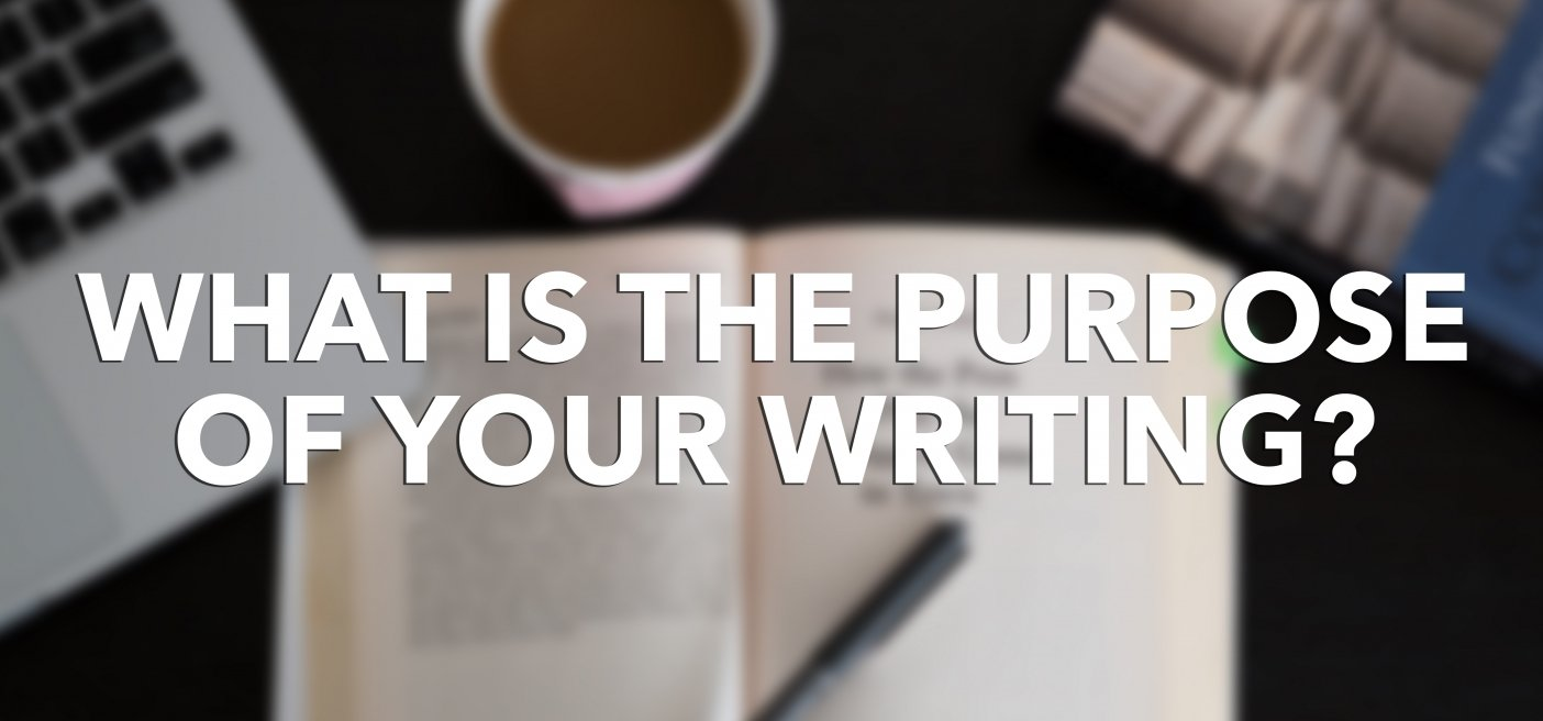 Importance of developing a mission statement, purpose for your writing