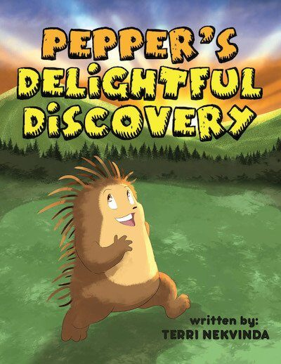 Pepper's Delightful Discovery - Book Cover